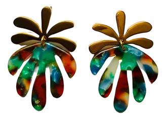 Lele Sadoughi Multicolour Metal Earrings