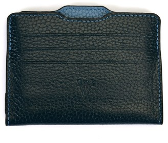 Atelier Hiva Double Card Holder Petrol Blue & Deep Blue