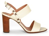 Valentino Garavani Rockstud Double Slingback Leather Sandals