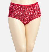 Avenue Scattered Heart Cotton Full Brief Panty