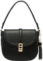 Melie Bianco Kennedy Vegan Leather Tassel Shoulder Bag