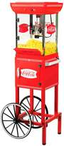 Nostalgia Electrics Limited Edition Coca-Cola Kettle Popcorn Cart
