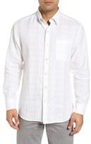 Tommy Bahama Men's Big & Tall A Linen Legend Classic Fit Linen Blend Sport Shirt