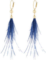 Accessorize Statement Feather Earrings