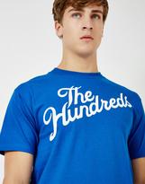 The Hundreds Forver Slant T-Shirt Blue