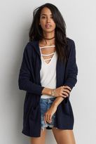 American Eagle Outfitters AE Hooded Pocket Cardigan