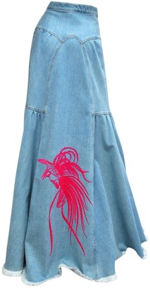 Vionnet Blue Denim - Jeans Skirt for Women