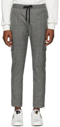 Dolce & Gabbana Grey Wool Prince Of Wales Cargo Pants