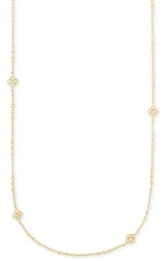 """Kendra Scott Pave Medallion 36"""" Station Necklace"""
