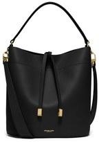 Michael Kors 'Medium Miranda' Leather Bucket Bag - Black