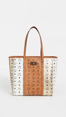 MCM Toni Visetos Mix Medium Shopper Bag