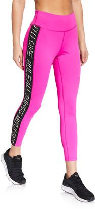 Pam & Gela Side-Stripe 7/8 Active Leggings
