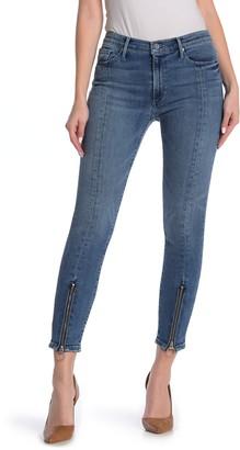 Black Orchid Nola Front Zip Skinny Jeans
