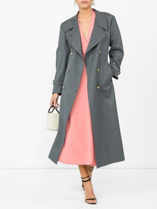Giuliva Heritage Collection Christie Wool Trench Grey