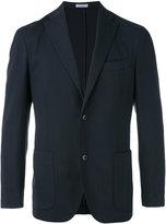 Boglioli fitted suit jacket - men - Spandex/Elastane/Cupro/Virgin Wool - 48
