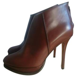 Max & Co. Brown Leather Ankle boots