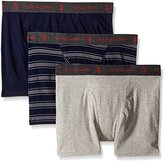 U.S. Polo Assn. Men's 3-Pack Stretch Boxer Briefs