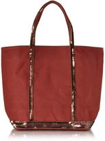 Vanessa Bruno Cabas Petite Canvas Small Tote Bag