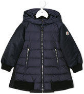 Moncler padded hood jacket - kids - Feather Down/Polyamide/Virgin Wool/Goose Down - 4 yrs
