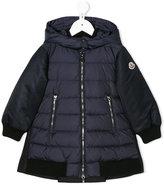 Moncler padded hood jacket - kids - Feather Down/Polyamide/Virgin Wool/Goose Down - 6 yrs