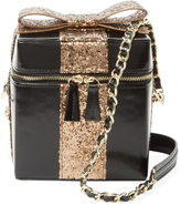 Alice + Olivia Women's Present Box Small Leather Crossbody