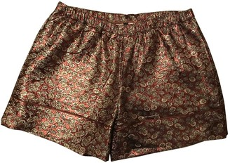 Laura Urbinati Metallic Cotton - elasthane Shorts for Women