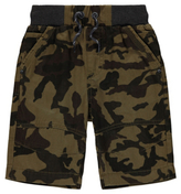 George Camoflage Canvas Shorts