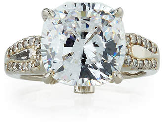 FANTASIA Cushion-Cut CZ Ring, Size 7