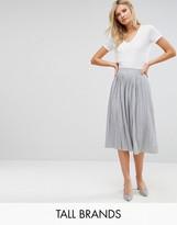 Vero Moda Tall Pleated Midi Skirt