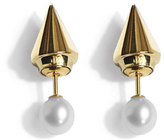 Vita Fede Mini Double Titan Pearl Earrings