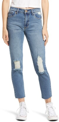 STS Blue Caroline Ripped High Waist Straight Leg Jeans