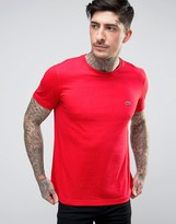 Lacoste Small Logo T-shirt Regular Fit In Red