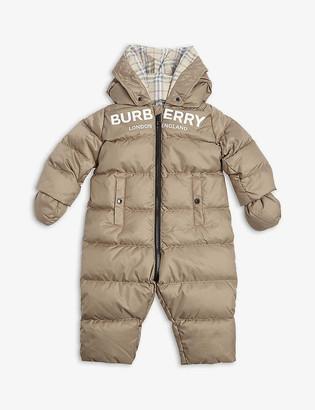 Burberry Skylar padded snowsuit 3-18 months