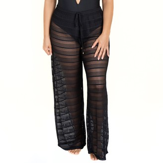 Jordan Taylor Plus Size Beachwear Pull-On Pants