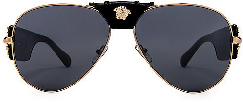 e115f37cee Versace Grey Sunglasses For Women - ShopStyle Canada
