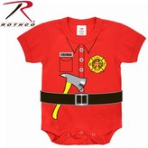 Rothco Infant Fireman One-piece, - 9-12 Months