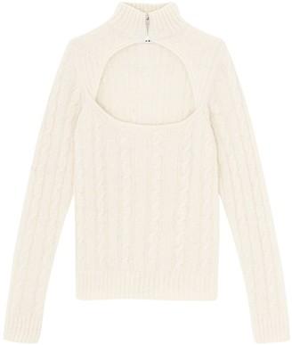 Ganni Alpaca Blend Knit Sweater