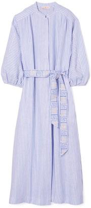 Tory Burch Striped Shirtdress