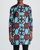 Paule Ka Abstract-Print Coat
