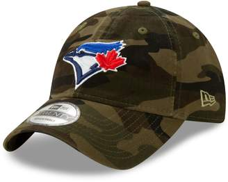 New Era Toronto Blue Jays MLB Core Classic Twill Camo 9TWENTY Cotton Baseball Cap