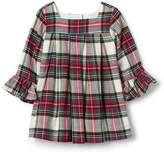 Gap Plaid flannel ruffle dress