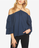 1 STATE 1.STATE Off-The-Shoulder Tiered-Sleeve Top