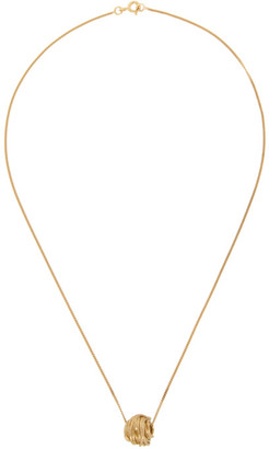 COMPLETEDWORKS Gold Dossing About Pendant Necklace