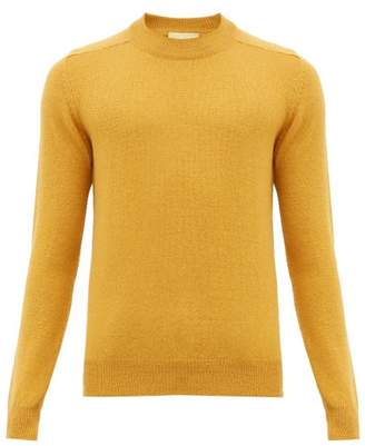 De Bonne Facture - Alpaca And Wool Blend Sweater - Mens - Gold