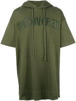 Juun.J hooded T-shirt - men - Cotton - S