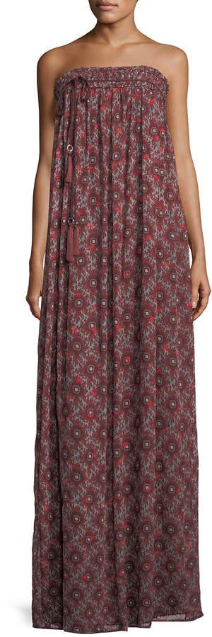 Cinq à Sept Sterling Floral-Print Maxi Dress