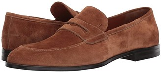 Bally Webb Loafer (Cowboy Suede) Men's Lace up casual Shoes