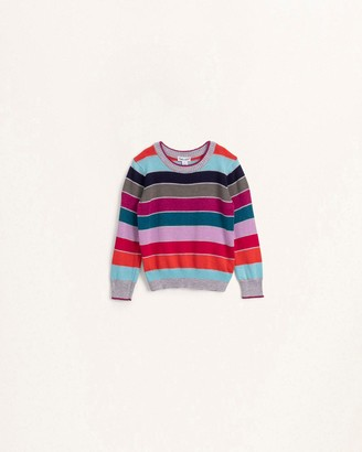 Splendid Toddler Girl Multi Stripe Sweater