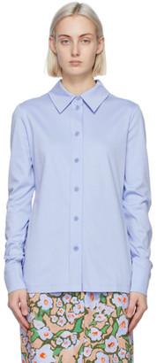 Sportmax Blue Jersey Alibi Shirt