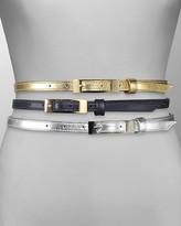 Women's Skinny Dip Waist Belt 1/2